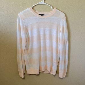 Theory Lightweight Linen Knit Sweater